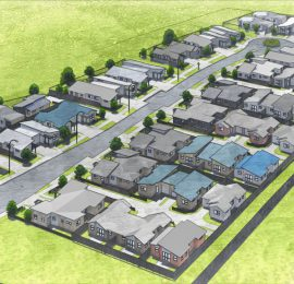 GREAT SOUTH RD DEVELOPMENT: <br />Totara Meadows 104-Home Subdivision