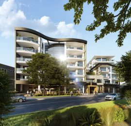 BEACHCROFT RESIDENCES <br/>Apartment Development